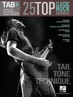 25 Top Classic Rock Songs - Tab. Tone. Technique. (Songbook)