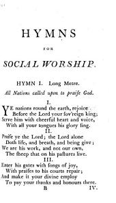 A selection of hymns for social worship
