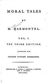 Moral tales: Volume 1
