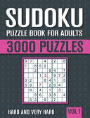 Sudoku Puzzle Book for Adults