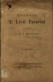 De candore T. Livii Patavini