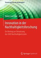 Innovation in der Nachhaltigkeitsforschung PDF