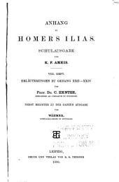 Anhang zu Homers Ilias: Ausgabe 8