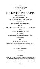 The history of modern Europe: in a ser. of letters from a nobleman (W. Russell).