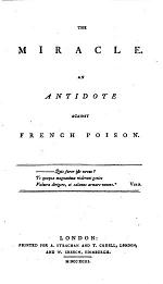 The Miracle. An Antidote Against French Poison