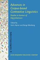 Advances in Corpus based Contrastive Linguistics PDF