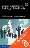 Research Handbook on the Sociology of the Family