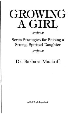 Growing a Girl PDF