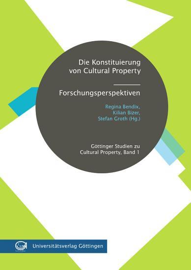 Die Konstituierung von Cultural Property PDF