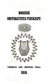 Nordisk universitets-tidskrift: Bind 4
