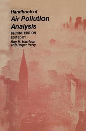 Handbook of Air Pollution Analysis