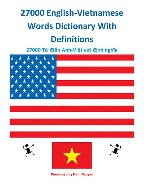 27000 English Vietnamese Words Dictionary With Definitions