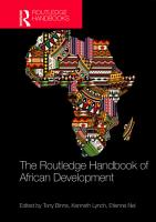 Handbook of African Development PDF