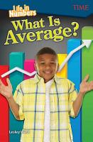 Life in Numbers  What Is Average  6 Pack PDF