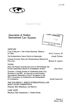 ASILS international law journal PDF