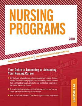 Nursing Programs   2010 PDF