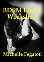 BDSM Limits Worksheet