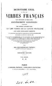 Dictionnaire usuel de tous les verbes français, par mm Bescherelle frères: Volume1