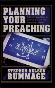 Planning Your Preaching Book