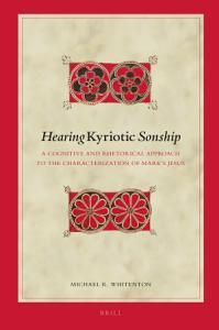 Hearing Kyriotic Sonship PDF