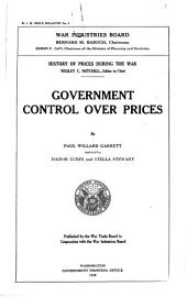 Price Bulletin ...: History of Prices During the War. No. 1919-.