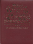 The New International Webster's Comprehensive Dictionary of the English Language