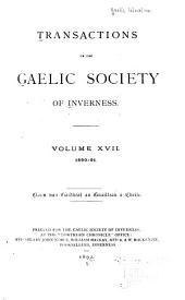 Transactions: Volumes 17-18