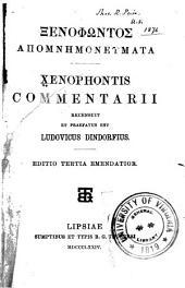 Apomnēmoneumata: Xenophontis Commentarii