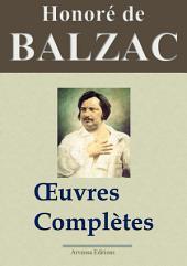 Honoré de Balzac : Oeuvres complètes — 115 titres La Comédie humaine (Nouvelle édition enrichie)