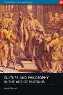 Culture Philosophy in the Age of Plotinus PDF