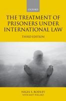 The Treatment of Prisoners under International Law PDF