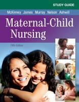 Study Guide for Maternal Child Nursing   E Book PDF