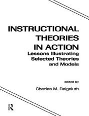 Instructional Theories in Action PDF