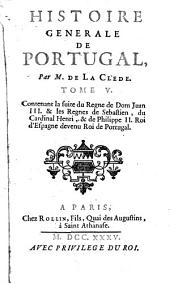 Histoire générale de Portugal: Volume5