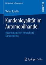 Kundenloyalit  t im Automobilhandel PDF