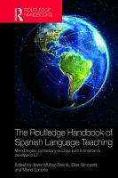 The Routledge Handbook of Spanish Language Teaching PDF