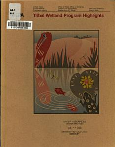 Tribal Wetland Program Highlights PDF