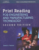 Print Reading For Engineering And Manufacturing Technology Book PDF