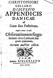 Discussio Appendicis Danicae