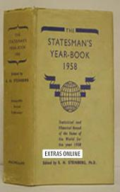The Statesman's Year-Book: Statistical and Historical Annual of the States of the World for the Year 1958, Edition 95