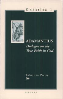 Dialogue on the True Faith in God Book