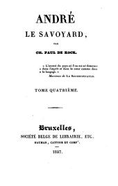 André le Savoyard: Volume4