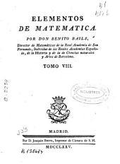 Elementos de matemáticas ...: Volumen 8