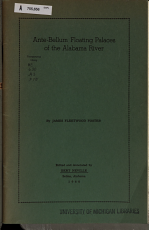 Ante bellum Floating Palaces of the Alabama River PDF