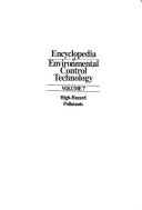 Encyclopedia of Environmental Control Technology PDF