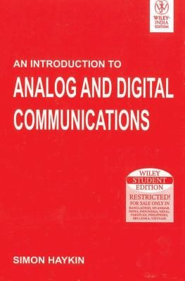 An Introduction To Analog And Digital Communications PDF
