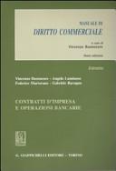 Contratti d impresa e operazioni bancarie  Manuale di diritto commerciale  Estratto PDF