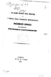 Gli allarmi magnetici delle burrasche e l presagi della telegrafia meteorologica: documenti storici