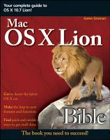 Mac OS X Lion Bible PDF