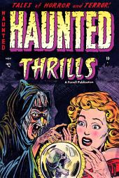 Haunted Thrills, Number 12, Terror Below
